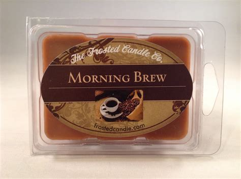 Morning Brew coffee 2 5oz soy wax melts morning brew scent one package java