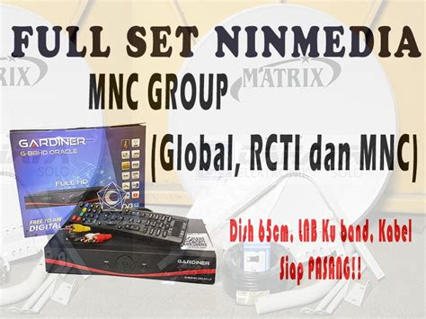 Receiver Oracle Ninmedia Jual Ninmedia Set Mnc Rcti Global Receiver Dish 65cm
