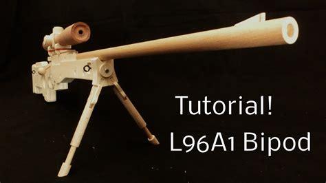 tutorial la bipod rubber band gun youtube