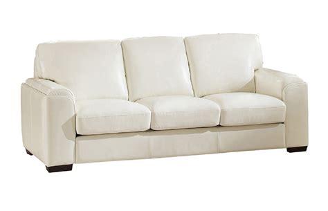 full grain leather sofa sale suzanne full top grain ivory white leather sofa