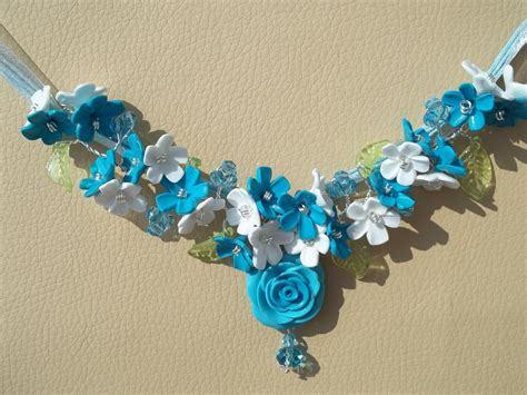gioielli con fiori collana con fiori gioielli collane di helen su