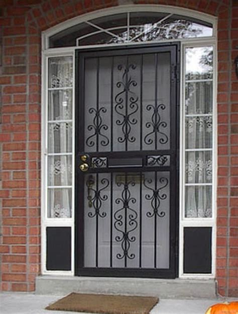 Patio Security Doors Lowes by Outstanding Screen Door Lowes Door Lowes Security Screen