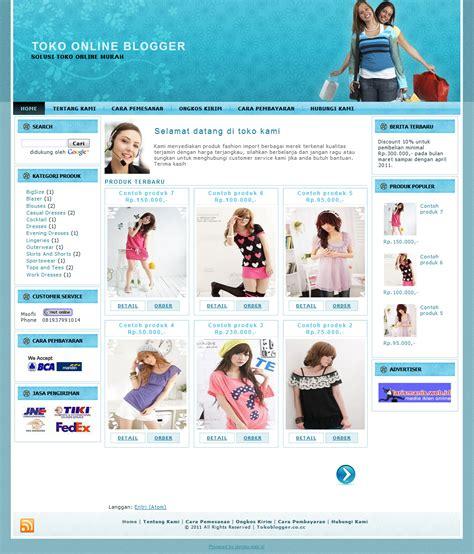 template toko online 3 kolom hizkia shop online template toko online blogspot