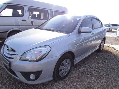hyundai verna 2010 2010 hyundai verna photos 1 4 gasoline automatic for sale