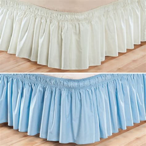 elastic bed skirts elastic bed skirts solid wrap around elastic bed skirt elastic bed ruffle