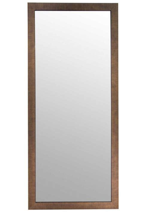 modern length wall mirror buy large length bronze modern style wall mirror 5ft5