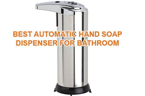 automatic soap dispensers for bathroom 3 best wall mounted automatic hand soap dispenser