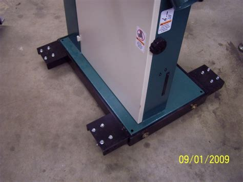grizzly bandsaw mobile base woodworking talk