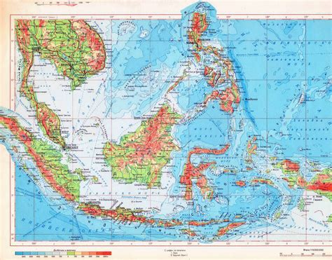printable peta indonesia maps of indonesia detailed map of indonesia in english