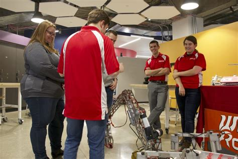 engineers projects  focus  campus makerspace holds  reverse career fair engineers