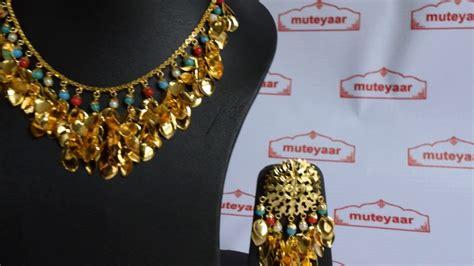 jewelry design of punjab punjabi traditional jewellery set gold plated necklace