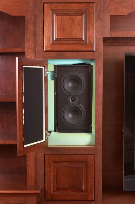 hidden speakers living room traditional  speakers