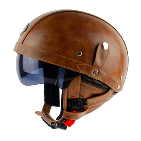 leather motorcycle helmet popular brown motorcycle helmet buy cheap brown motorcycle
