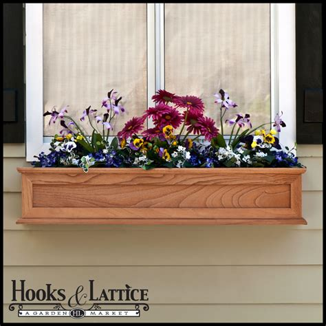 wooden window boxes wooden flower box wood window boxes - Wood Window Box