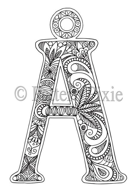 alphabet coloring pages advanced advanced coloring pages letters