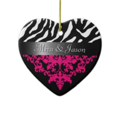 zebra print christmas decorations christmas lights card