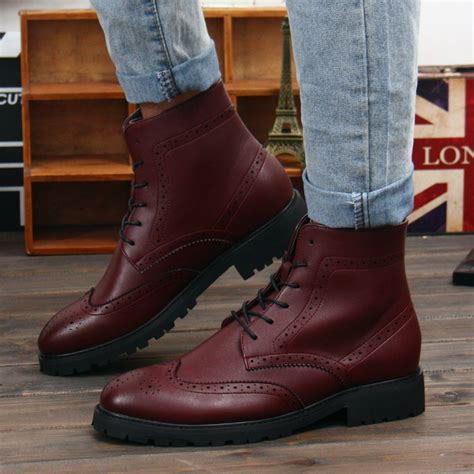 mens winter leather boots leather boots for fashion yu boots