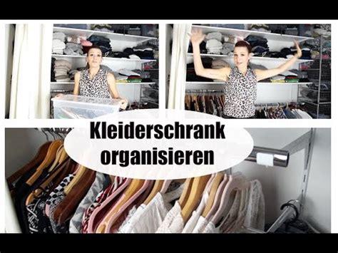 kleiderschrank organisieren kleiderschrank organisieren ordnung halten platz sparen