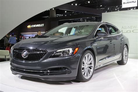 buick lacrosse heading  dealerships  july priced
