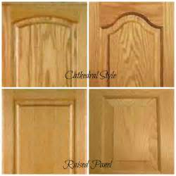 Oak Kitchen Cabinet Doors How To Update Oak Or Wood Cabinets Cathedral Or Raised Panel