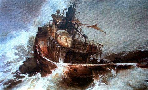 imagenes de barcos en tempestades pinturas de barcos pintura y artistas