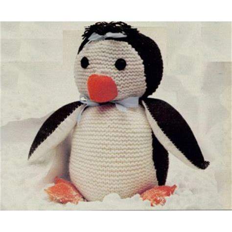 knitting pattern for penguin a few more penguins to knit free patterns grandmother