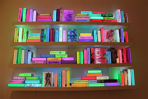 airan kang s illuminated bookshelf arts observer