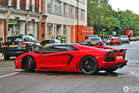 lamborghini aventador lp700 4 roadster red lamborghini aventador lp700 4 roadster 3 april 2017 autogespot