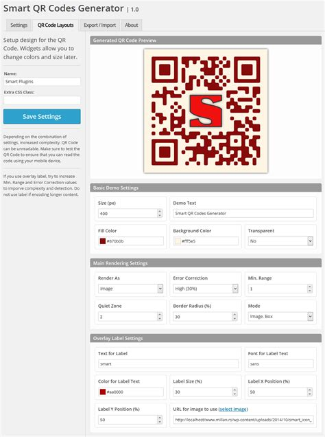 layout code maker smart qr codes generator by gdragon codecanyon