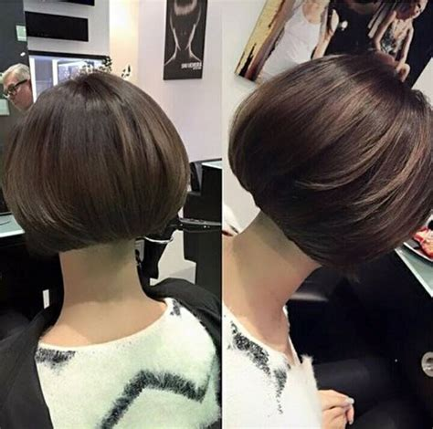 how cut double short bob double vue bob hairstyles pinterest bobs haircuts