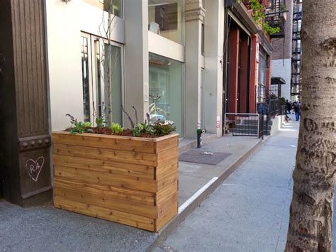 Planters Nyc by 1000 Images About Custom Large Planter Box Design By New