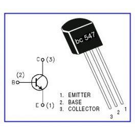 transistor bc557 npn transistor bc547b npn