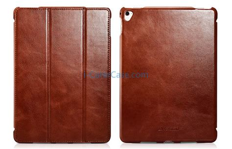Primary Original Leather Pouch Pro 97 icarer pro 9 7 inch vintage series side open genuine leather