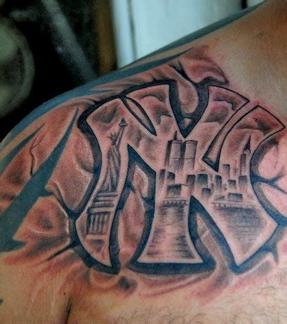 tattoo les nyc photo tatouage simplifi 233 du paysage de new york avec le