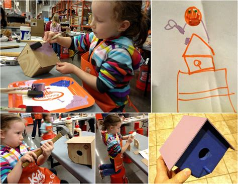 home depot kids workshops free weekly workshops home saturday roundup my daughter is psychic edition dad is