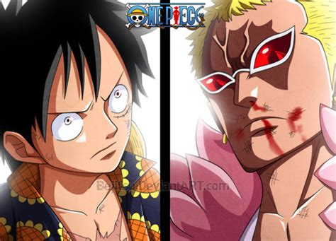 one luffy vs doflamingo one images luffy vs doflamingo hd wallpaper and