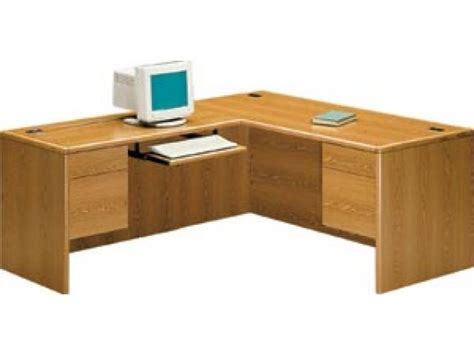 Hon Office Desks Hon L Shaped Office Desk W Left Return Hon 2000l Office Desks