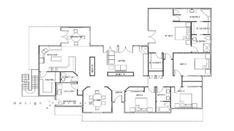 M Drawing In Autocad by Autocad Drawing House Floor Plan House Autocad Designs