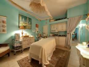 turquoise and spa treatment room spa design ideas