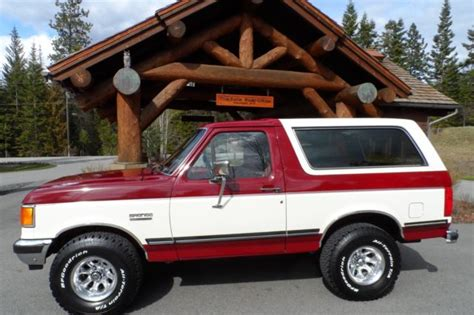 1991 ford bronco xlt for sale in havelock north carolina classified americanlisted com 1991 ford bronco xlt rust free survivor extremely clean with 90 original paint for sale photos