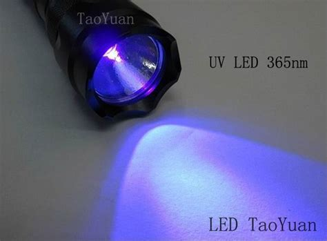 Led 3w Ultra Violet Uv 365 Nm uv flashlight uv led flashlight 365nm 375nm 385nm 395nm
