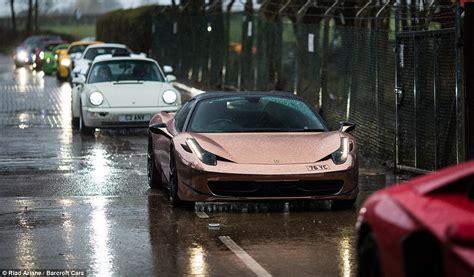 koenigsegg rain 163 20m worth of the world s fastest supercars brave rain for