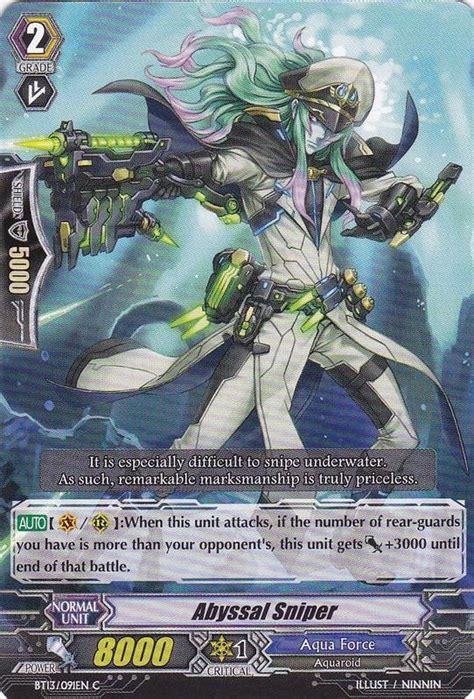 Kartu Cardfight Vanguard Abyssal Sniper C abyssal sniper cardfight vanguard wiki