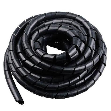 Diskon Kabel Angka 8 Kabel Power 1 5m spiral pembungkus kabel listrik selang ukuran 8mm x 10 5m black jakartanotebook