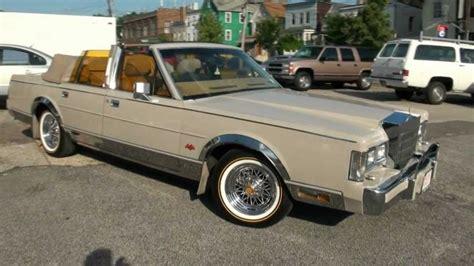 1988 lincoln town car reviews generation high output