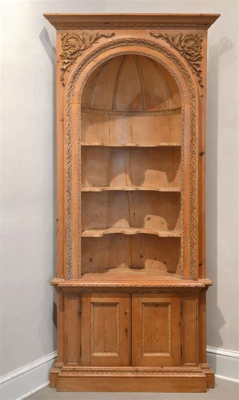 Corner Cabinate by Pair Of 19th Century Corner Cabinets At 1stdibs