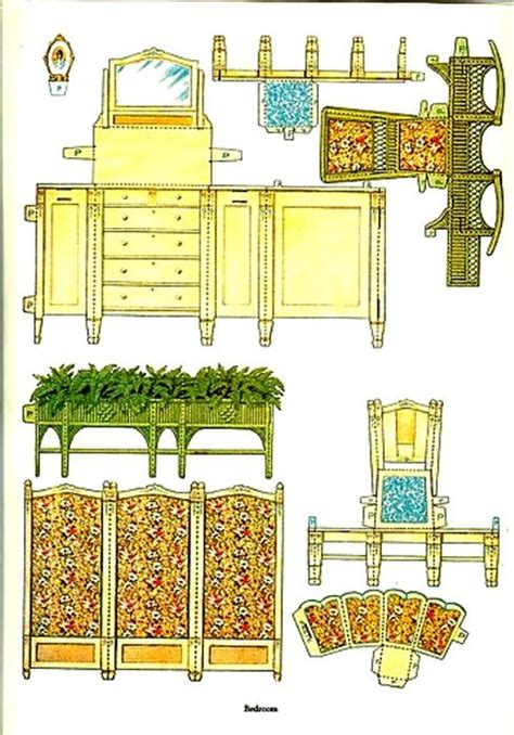 How To Make Paper Dollhouse Furniture - how to make dollhouse furniture out of paper woodworking