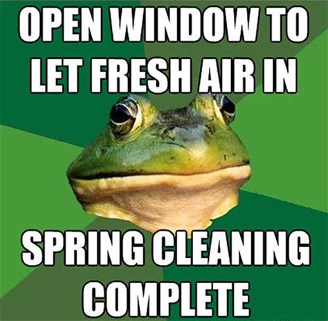 Funny Spring Memes - spring cleaning meme