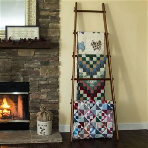 Where To Buy Quilt Racks by Buy A Crafted 105 Inch Custom Apple Ladder Quilt Rack