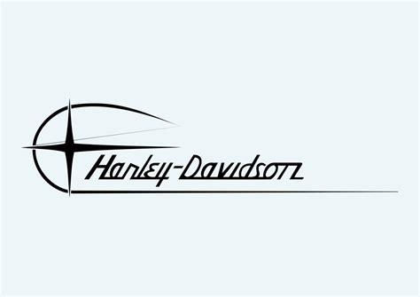 harley davidson logo vector art amp graphics freevector com